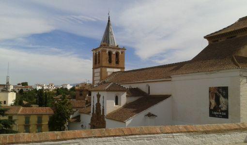 Guadix vista iglesia